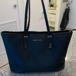 Black Michael Kors Laptop Tote